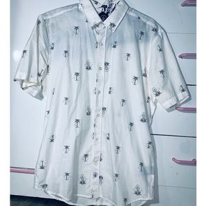 Other - Palm Tree Button Down size:M